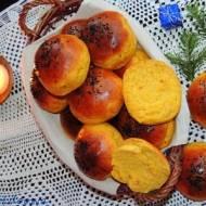 Bułki dyniowe z kokosem