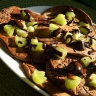 Czekoladowe owsiane pancakes - dwie wersje