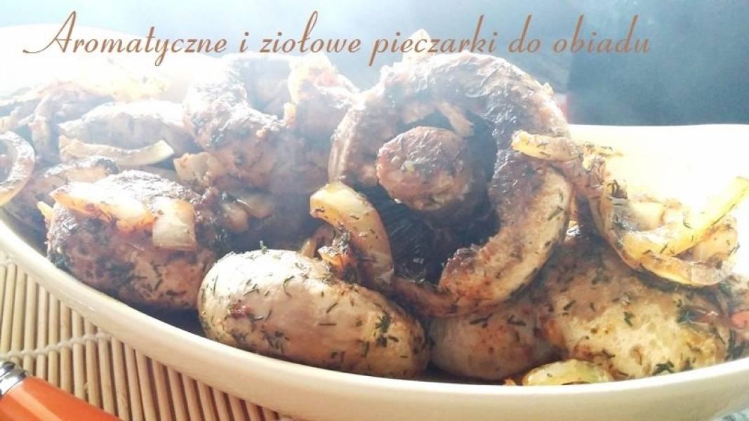 Przepis Na Aromatyczne I Ziolowe Pieczarki Do Obiadu Zasmakuj