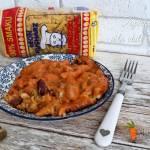 Zapiekanka a'la chili con carne