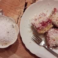 Ciasto truskawkowe z kokosanką