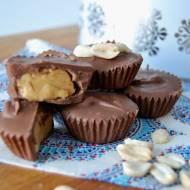 Domowe babeczki czekoladowe z masłem orzechowym