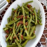 Fasolka szparagowa w sosie oregano