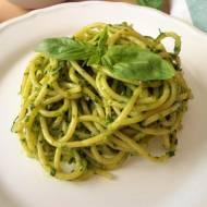 Spaghetti z salsą verde (Spaghetti con salsa verde)