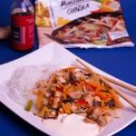 Kurczak z warzywami po chińsku