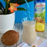 Koktajl Tropicana z bananami, mleczkiem kokosowym i nektarem ananasowym Hortex