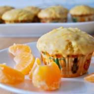 Muffiny pomarańczowe z polewą