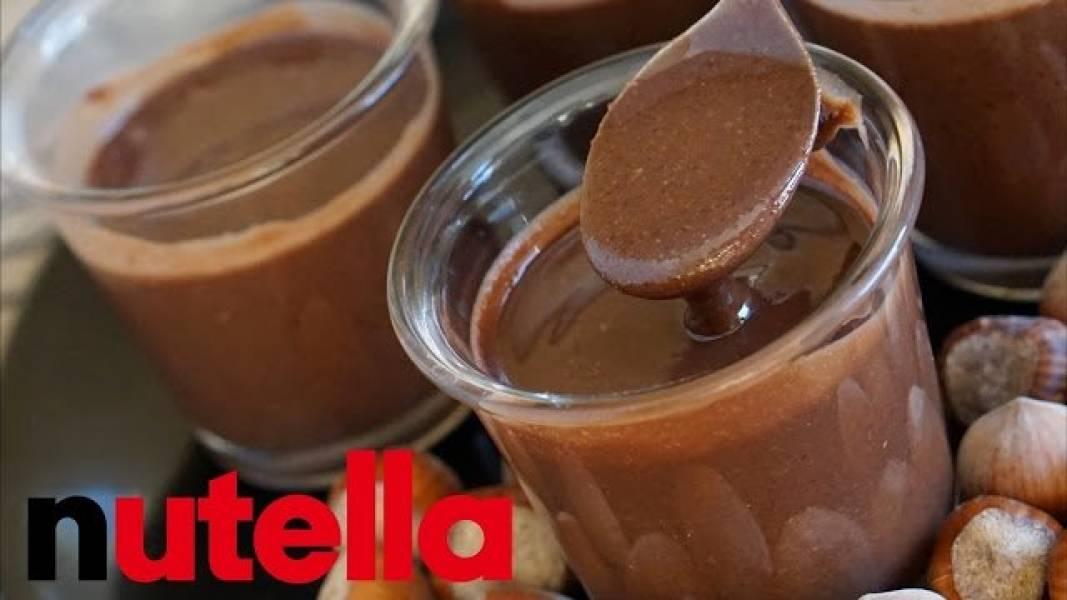 Zdrowsza wersja Nuttelli - Fit Nutella - Zobacz jak zrobić