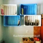 Półki w kuchni – jak je zrobić, DIY