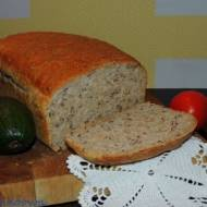 Chleb z siemieniem lnianym i amarantusem