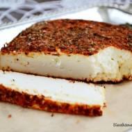 Pieczony biały ser