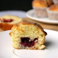 Super szybkie zastępstwo pączków – muffiny pączkowe z konfiturą