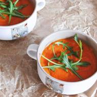 Zupa krem z marchewki i czerwonej soczewicy