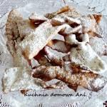 Faworki / Chrust (z mielonego ciasta)
