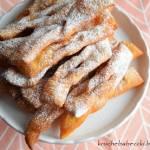 Faworki/chrust z serkiem mascarpone