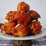Pączki arabskie z syropem migdałowym
