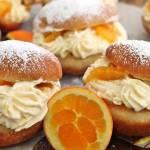 Pomarańczowe pączki