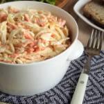 Sałatka cebulowa – kuchnia podkarpacka