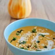 Tajska zupa krem z dyni piżmowej