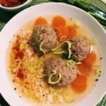 Aromatyczna zupa z kaczki na rosole