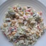 Błyskawiczny piątek - Sałatka z selerem naciowym i mozzarellą