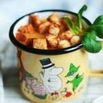 Krem z marchewki w orientalnym stylu