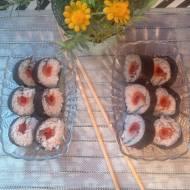 Domowe sushi z rybką