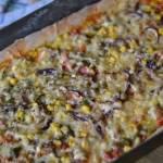 Pizza a'la gyros