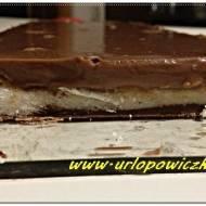 Kokosowy baton z pianką czekoladową