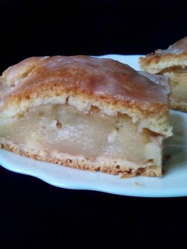 Ciasto z połówek jabłek