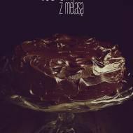 Czekoladowy torcik z melasą