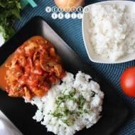 Czerwone curry z indykiem