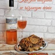 Kaczka duszona w różowym winie i KONKURS