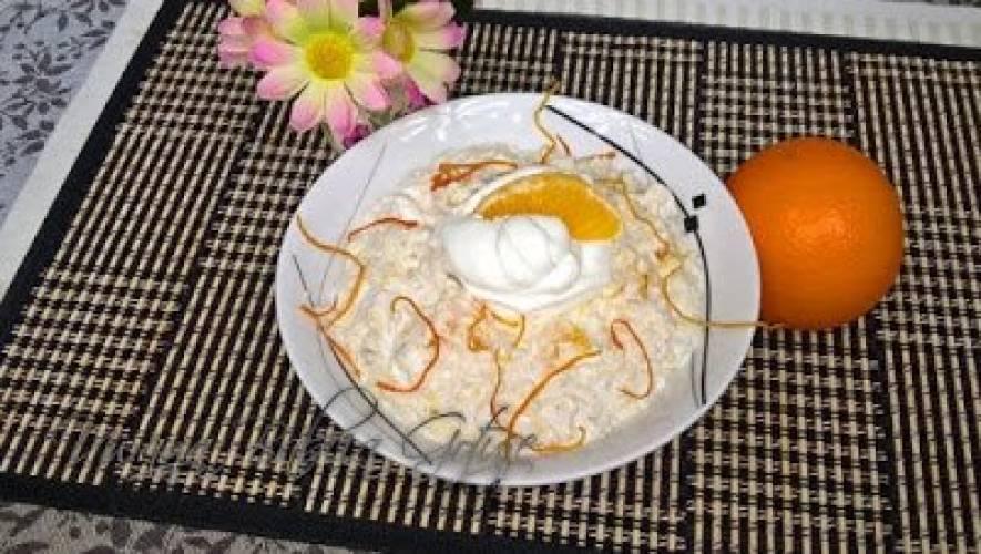 Płatki Owsiane na Śniadanie z Pomarańczami | Pyszne i Pożywne Śniadanie
