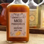 Domowy syrop z miodu, pomarańczy i goździków na przeziębienie
