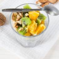 Pudding chia, czyli deser z nasion chia z owocami