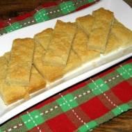 Shortbread. Szkockie ciastka.