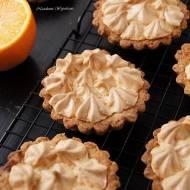 Tartaletki pomarańczowe z bezą