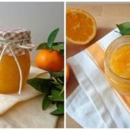 Domowe marmolady: pomarańczowa i mandarynkowa (Marmellata di arance e mandarini)