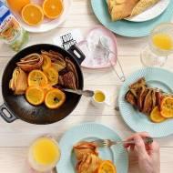 Potrójnie pomarańczowe zapiekane naleśniki!