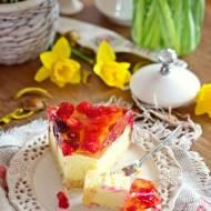 Sernik mleczno-cytrynowy z owocami
