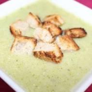 Szybka zupa krem z brokuł