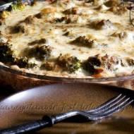 Tarta serowa z brokułem