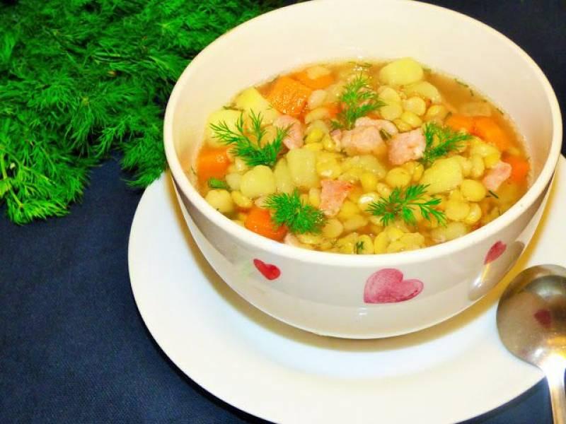 Przepis Na Zupa Grochowa Z Bekonem Kulinarne Odslony Pati