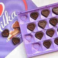 Dietetyczne czekoladki Milka z orzechami | bez laktozy, wegańskie, bezglutenowe, fit |