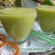 Koktajl ananas awokado gruszka pomarańcza