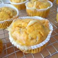 Marchewkowe muffiny z orzechami włoskimi i gorgonzolą (Muffin di carote, noci e gorgonzola)