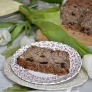 Wegański chleb na bazie ziaren i bakalii