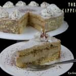 Tort CAPPUCCINO, moja wersja... na czwarte urodziny bloga
