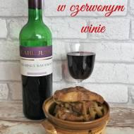 Karkówka w czerwonym winie